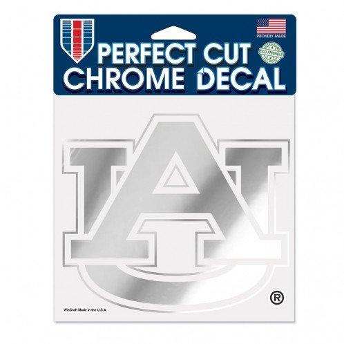 University Chrome Perfect Cut Decal, 6 x 6, Black ()