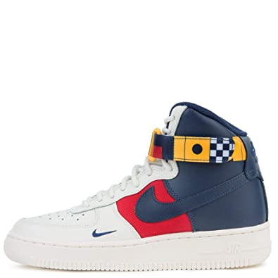 Amazon.com | Nike Air Force 1 High Lv8 (gs) Big Kids Av7958 ...