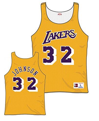 Magic Johnson La Lakers - Magic Johnson Lakers All Star 1983 Reversible Jersey (Large)