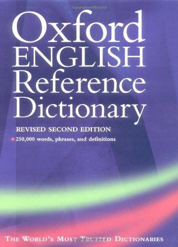 Oxford English Reference Dictionary (Diccionarios Varios)