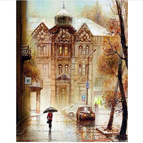 CZYYOU DIY Digital Malen Nach Zahlen Russische Zoll Ölgemälde Wandbild Wandbild Wandbild Kits Färbung Wandkunst Bild Geschenk - Ohne Rahmen - 40x50cm B07PNMZ3GP | Viele Stile  c90322