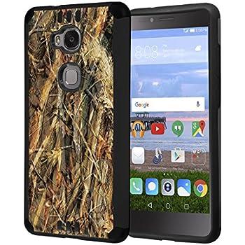 Amazon.com: TJS Huawei Sensa LTE Case Tempered Glass Screen ...