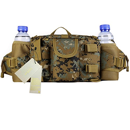 Larkoo Ranger Backpack - Multifunctional Vintage Waist Ha...
