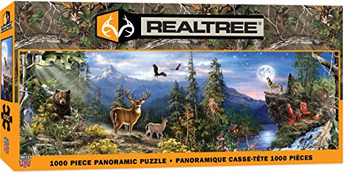 MasterPieces Realtree Panoramic Jigsaw Puzzle, 1000-Piece