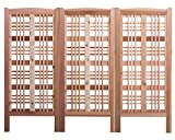 Arboria Claremont Landscape Privacy Screen – Western Red Cedar Trellis Made in USA, 1 Screen, 60 Inches, 3 Pack