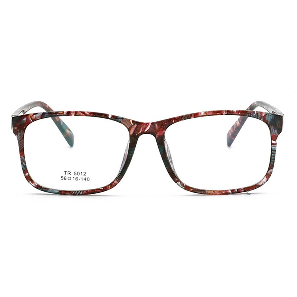 TR90 Flat Eyeglass Frame Vintage Full Rim Glasses Retro Spectacles Jiasijieke