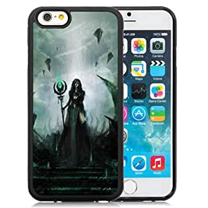 Fashionable Designed Cover Case For iPhone 6 4.7 Inch TPU With Amazonian Queen Fantasy Mobile Wallpaper Phone Case