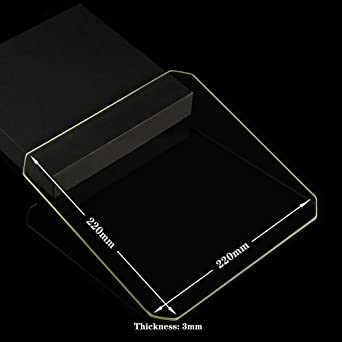 Placa de cristal de borosilicato para impresoras 3D, cristal ...