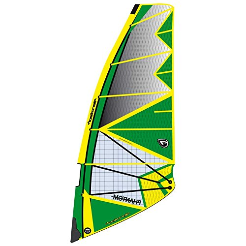 Aerotech Sails 2017 Phantom-5.3-Yellow Windsurfing Sail by Aerotech Sails (Image #1)