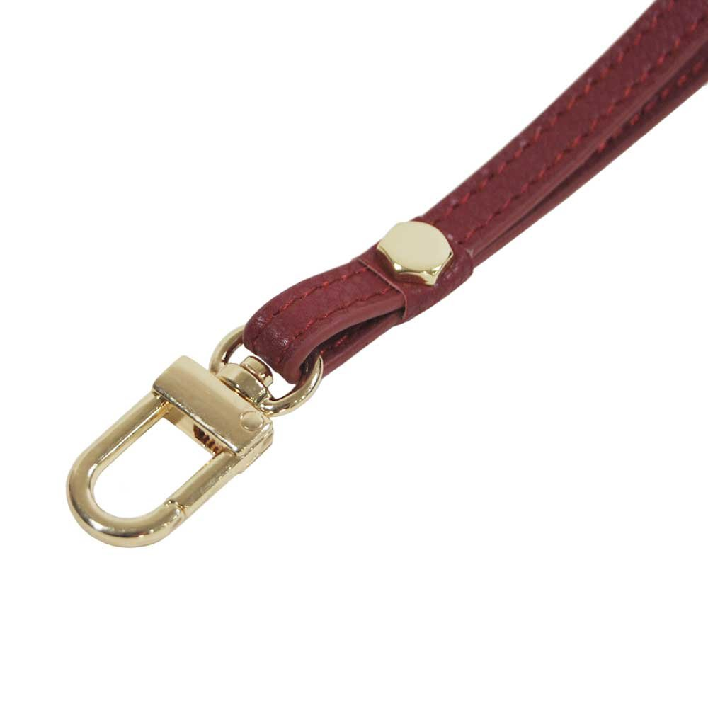 Genuine Leather Hand Wrist Strap Lanyard for Cell Phone Camera ipod mp3 mp4 USB Flash Drive ID Badge holder Key Indi Pink