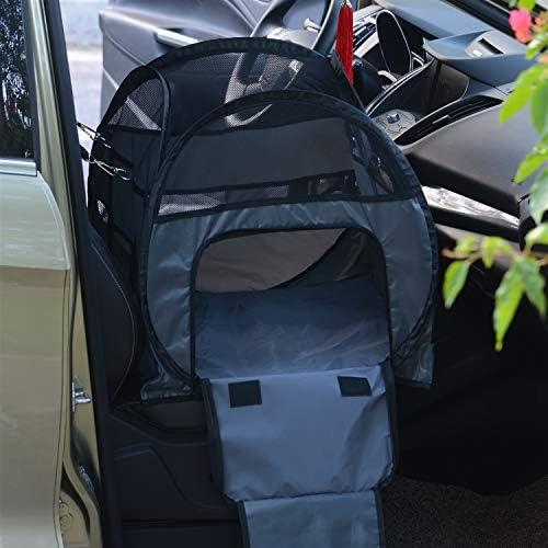 ペットシートカバー ペットのバックシートカバープロテクターユニバーサル防水シートは、のためには、傷から車を保護保護します (Color : Black, Size : 50x50x50cm)
