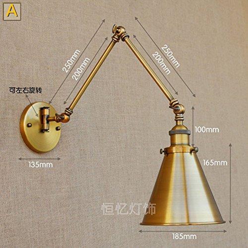BOOTU lámpara LED y luces de pared Lámpara de pared decorativa ...