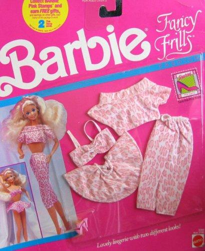 Barbie Fancy Frills Fashions LINGERIE (1990)