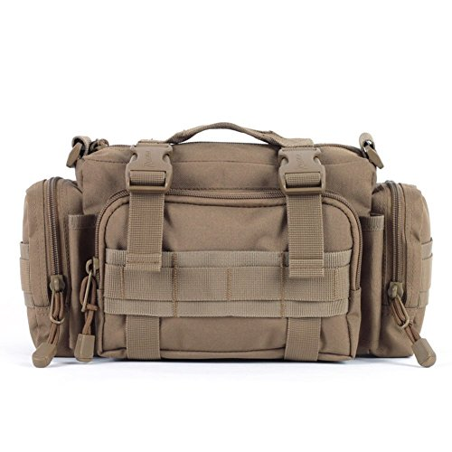Sincere® / ventiladores del paquete mochilas / Portable / Ejército ultraligero acampada super-hombre de la bolsa de patrulla / bolso de hombro actividades al aire libre 20L-amarillo