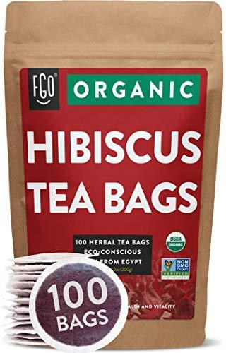 Organic Hibiscus Tea Bags