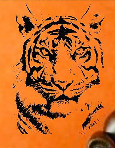 CrazyWEN-Sticker-Tiger Face Version Decal Sticker Wall Animal Kid Child Room Boy Girl Teen Nursery -