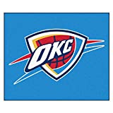 FANMATS 19464 NBA - Oklahoma City Thunder Tailgater Rug , Team Color, 59.5''x71''