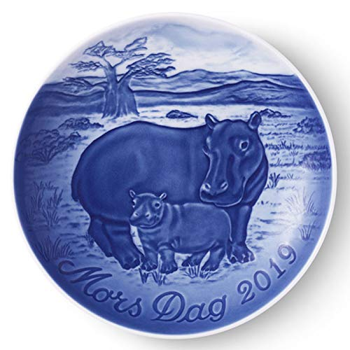 Royal Copenhagen Mothers Day Plate - Bing and Grondahl 1027174 Collectible Mother s Day Plate 2019, Porcelain, 5.75