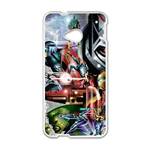 Avengers Age Of Ultron HTC One M7 Cell Phone Case White persent xxy002_6052368