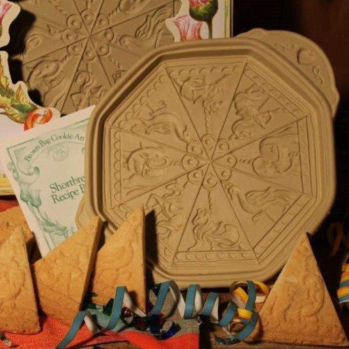 Brown Bag Cookie Art Carousel Shortbread Cookie ()