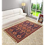 Shankara 6D Cotton Flower Designer Carpet | Rug | Galicha | Living Room | Bed Room | Hall | Temple| Bedside Runner…