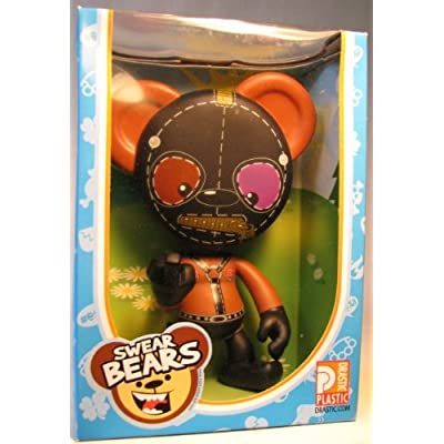 Swear Bears 6 inch vinyl Bondage Bear: Toys & Games
