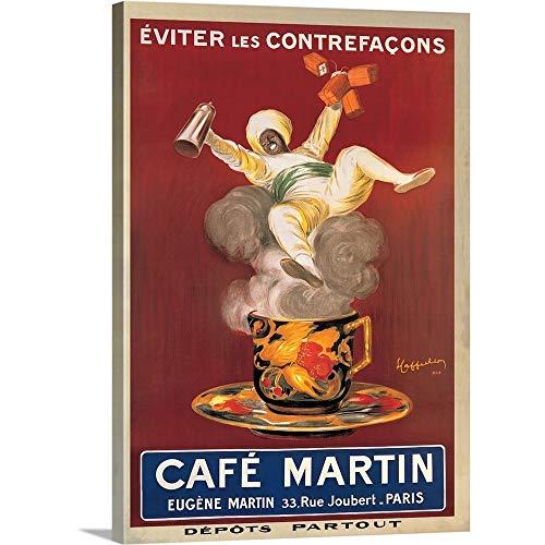 Cafe Cappiello Leonetto - Gallery-Wrapped Canvas Entitled Cafe Martin, 1921 by Leonetto Cappiello 35