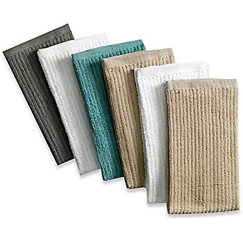 Amazon Com Real Simple Scrubber Dish Cloths Set Of 4