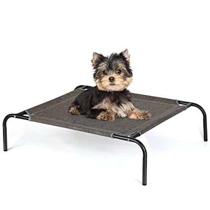 Detachable Assembly Style Breathable Pet Steel Frame Camp Bed S Green Sufficient Supply Security & Protection