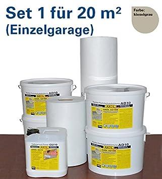 Gut bekannt Flachdachabdichtung für 20 qm (Einzelgarage) Flachdach mit LU06