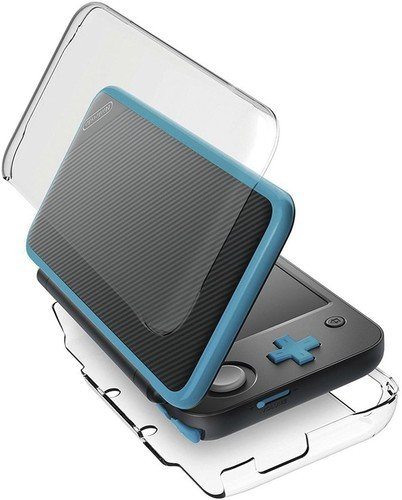 HORI Nintendo New 2DS XL Duraflexi Protector (Clear) by HORI- Officially Licensed by Nintendo – Nintendo 2DS;