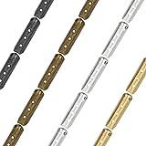160 PCS Metal Aglets DIY Shoelaces Repair Shoe Lace