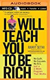 img - for I Will Teach You to Be Rich by Ramit Sethi (2015-08-11) book / textbook / text book