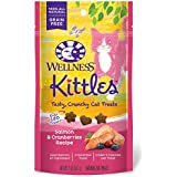 Wellness Kittles Natural Grain Free Cat Treats, Salmon & Cranberries, 2-Ounce Bag