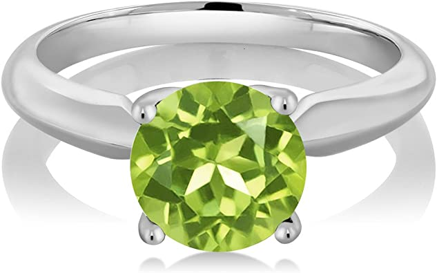 Green Peridot  set in 925 silver These beauties are 2.15 long