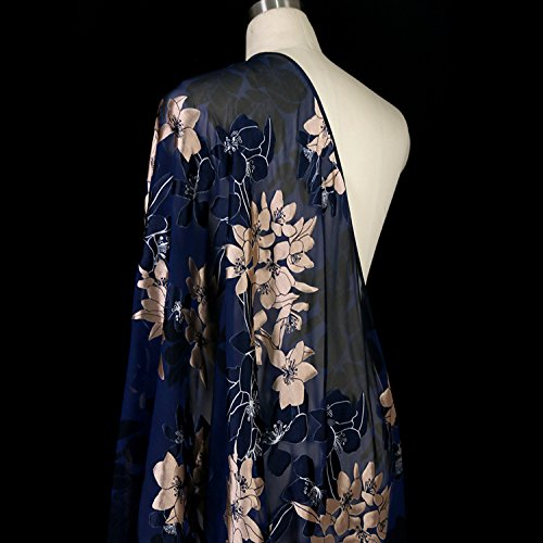 (2017 New 8momme Silk Printed Crepe Satin Sticky Fabric Pure Natural 100% Silk Fabric)