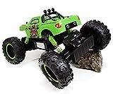R/C Rock Crawler 1:12 Scale Radio Control 4x4 Wheel Drive Monster Truck Off Road Vehicle (Green)