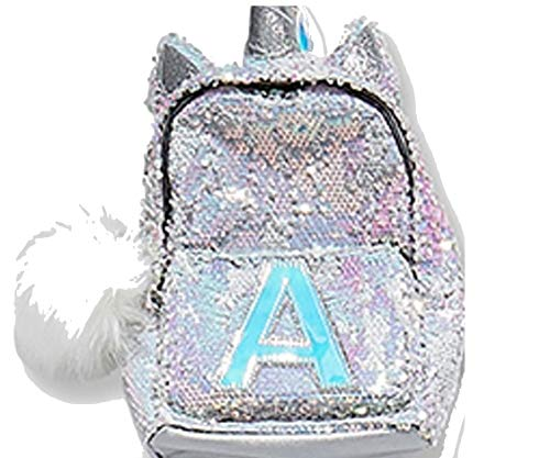 Justice Justice Girls Initial Unicorn Flip Sequin Mini Backpack Letter (A) d739c058e3740