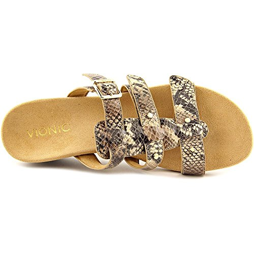 be702f1ebe36 Vionic by Orthaheel Park Radia Natural Snake Wedge Sandal 6M  Amazon.co.uk   Shoes   Bags