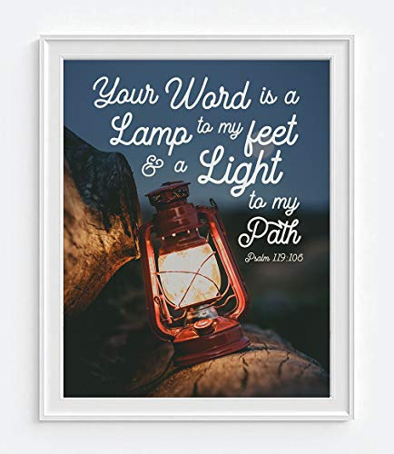 Bible Verse Light To My Path in US - 7