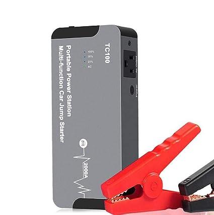 Potenciador de batería de auto, arrancador y cargador de ...