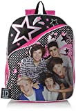 Accessory Innovations Big Girls' One Direction Stars Backpack, Multi, One Size
