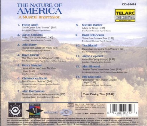 The Nature Of America: A Musical Impression by Telarc
