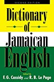 A Dictionary of Jamaican English