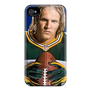 QDlgo9428gKwTM Snap On Case Cover Skin For Iphone 4/4s(clay Matthews)