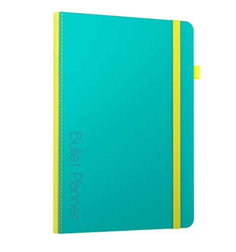 b762abd9f2d8 Scribbles That Matter - Bullet Planner - Undated Daily Weekly Monthly  Planner - Size B5 -