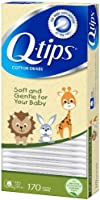 Q-tips Cotton Swabs, Baby 170 ct (Pack of 4)