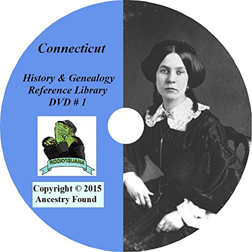 Connecticut History & Genealogy on DVD - 265 books - Ancestry, Records, Family