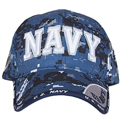 Fox Outdoor 78-568 Embroidered Ball Cap, Navy Service/Sky Digital from Pro-Motion Distributing - Direct