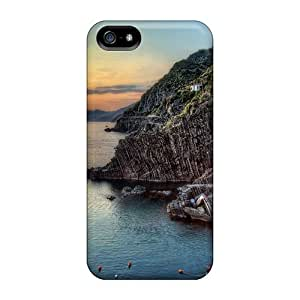 Snap-on Case Designed For Iphone 5/5s- Riomaggiore Italy